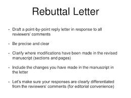 letter of rebuttal sample rebuttal letter sample rebuttal letter gomar rebuttal letter example