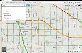 how to show traffic predictions on the new google maps (updated