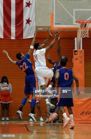 Coolidge's Everett Coker goes up for two during the DCIAA boys ...