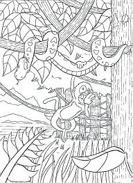 rainforest animals coloring sheets coloring pages coloring pages to print pictures free animals coloring pages printable