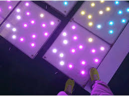 floor lighting led. twinkling dancing floor lighting led