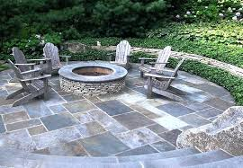 bluestone patio costs dimensional flagstone mortared in place offers a formal look flagstone patio cost per