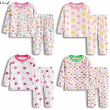 Fashion Baby Girls Pajamas Clothes Suit Cotton Soft Top Quality Children Sleepwear Colorful Bebe Roupas Newborn Sleep Set