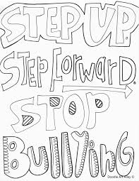 Anti Bullying Coloring Pages