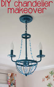 now to share a diy project with us today keep reading to see how she gave an inexpensive chandelier a fab makeover for her baby girl s nursery