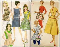 Vintage Apron Patterns Stunning Friday Freebie Vintage Apron Patterns The Perfect Nose
