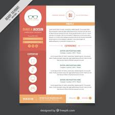 Free Graphic Design Resume Templates Graphic Design Resume Template Vector Free  Download Ideas