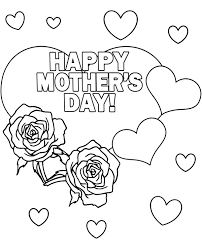 It doesn't matter if you have a mum or a mom, i have two options for you. Free Printable Greeting Cards Happy Mother S Day Coloring Page