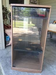 Glass Door Stereo Cabinet - Imanisr.com