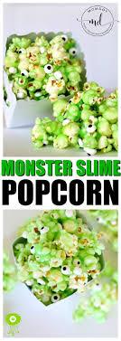 Green Jello Popcorn