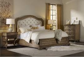 furniture solana upholstered panel bedroom set