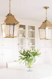 brass pendant lantern island lights