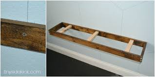 Installing Floating Shelves Impressive DIY Rustic Modern Floating Shelves Tutorial