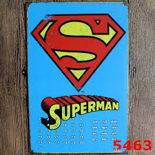 Small Picture Super Man Vintage Metal Signs Home Decor Vintage Tin Signs Pub