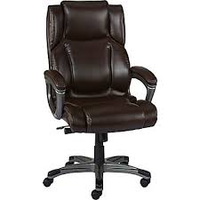 office chairs images. Staples Washburn Bonded Leather Office Chair Brown Chairs Images