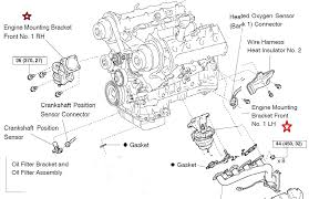 2006 lexus gs300 engine diagram auto repair guide images 2000 lexus gs300 engine diagram motor mount & transmission mount location diagram clublexus for 2006 lexus gs300 engine diagram