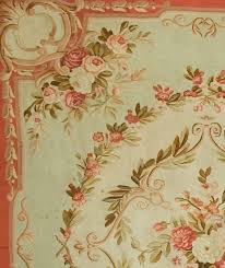 hand woven antique french aubusson rug circa 1890 for