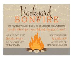 Backyard Bonfire Fall Festifun Party Backyard Bonfire Party