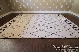 diy sharpie rug
