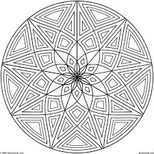 Printable Coloring Pages geometric shape coloring pages : Coloring Pages: Free Geometric Shapes Coloring Pages Images ...