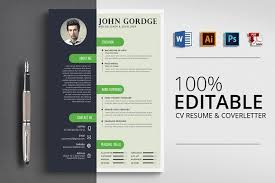 creative design resumes resume templates design creative design cv resume word