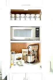 buffet server microwave storage cabinet hutch white