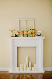 build it yourself fire place cute set up even for houses that already
