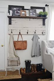 Rustic Entryway Coat Rack DIY Rustic Entryway Coat Rack Liz Marie Blog 2