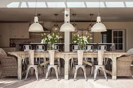 industrial style dining room lighting. Farmhouse-style Dining Room W/skylight Industrial Style Lighting S