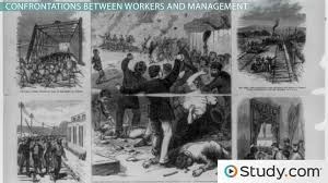 labor unions during the second industrial revolution organized  labor unions during the second industrial revolution organized labor vs management video lesson transcript study com