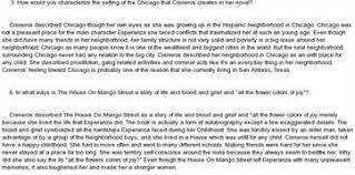 the house on mango street short essay  the house on mango street essay weebly