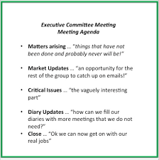 Work Meeting Agenda Meeting Agendas 10 Tips To Make Them Work Mary Clare Tomes