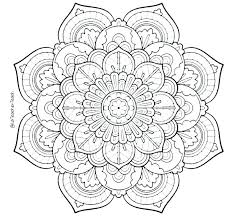 Flower Coloring Pages To Color Online Adult Flower Coloring Pages