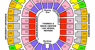 Nfr 2018 Seating Chart National Finals Rodeo Nfr For 2018 2019 2020 Las Vegas
