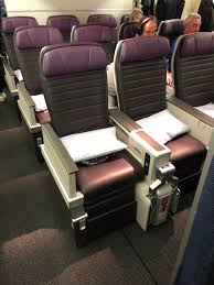 United Economy Plus Seating Chart Pictures Testing Out Uniteds New Premium Economy Live