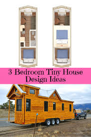 Homes On Wheels Design Most Popular 3 Bedroom Tiny House On Wheels Design 1 Or 2