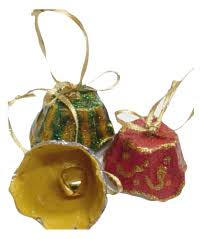 Egg Carton Jingle Bells  Christmas Ornament CraftChristmas Crafts With Egg Cartons