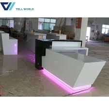 china commercial counter furniture white and grey l shaped reception desk china l shaped reception desk green reception desk