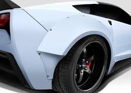 2014-2016 Chevy Corvette C7 Duraflex Gran Veloce Wide Body Kit ...