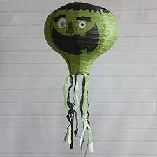 <b>Halloween</b> Lanterns <b>Decoration</b> Foldable Paper Hot Air Balloon ...