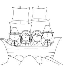 Pilgrim Coloring Pages Schneeskicom