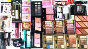 new makeup products 2016. new massive drugstore makeup haul 2016: maybelline, rimmel, wet n wild \u0026 covergirl - youtube new makeup products 2016