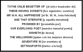 "poetry william shakespeare ""soneto xviii"" ""sonnet xviii  edicion de los sonetos de shakespeare publicada en 1609 y dedicada a mr"