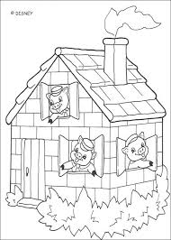 House Coloring Pages Preschool Free