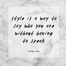 Speak Quotes Adorable Fashion Quotes Life With Me