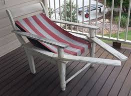 relaxing furniture. antique vintage squatters chairs red u0026 white c1930s lounging relaxing furniture
