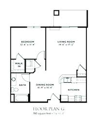 1 bedroom apartment floor plans 2