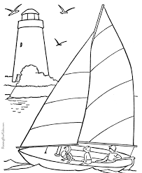 Small Picture Sail boat coloring book pages 001 Coloring Pages Pinterest