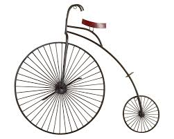 on bicycle metal wall art uk with old century bicycle three dimensional wall art