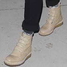 Jessica Alba Wears Weber Hodel Feder Brogue Boots